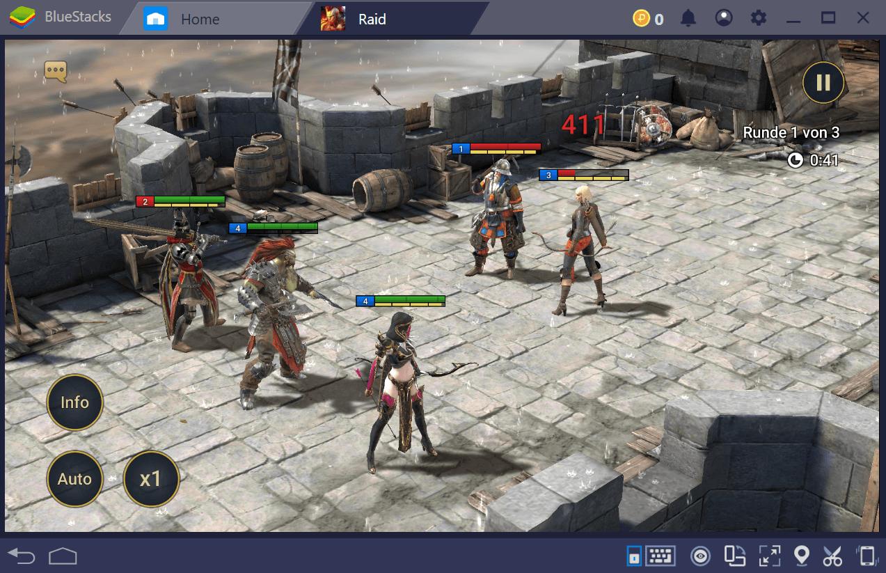 Ein Guide zum Wiederholen in RAID: Shadow Legends mit BlueStacks