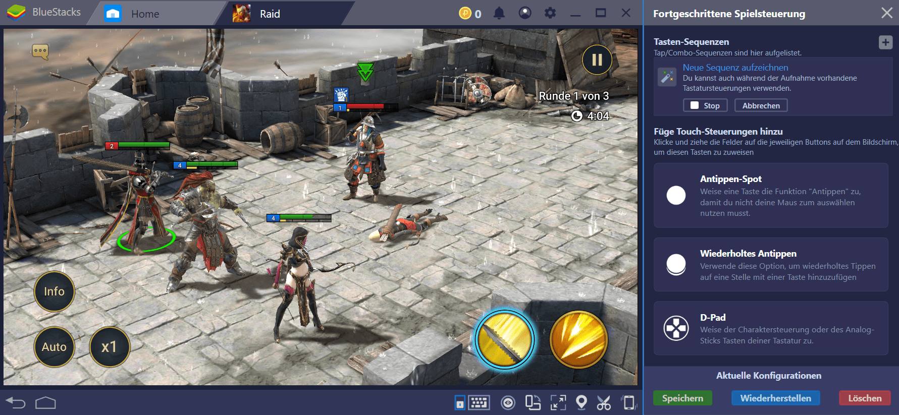 Ein Guide zum Wiederholen in RAID: Shadow Legends mit BlueStacks