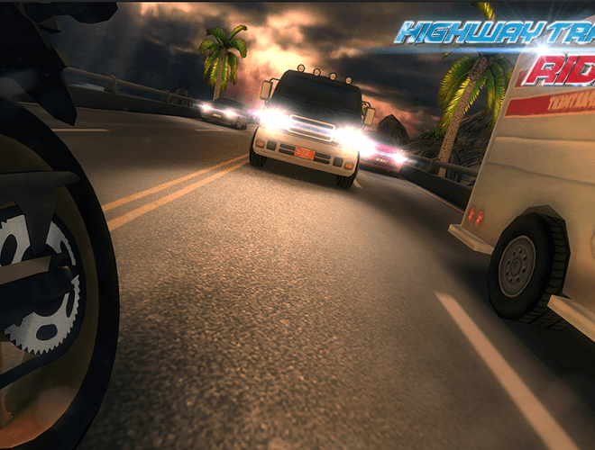 Играй Highway Traffic Rider На ПК 6