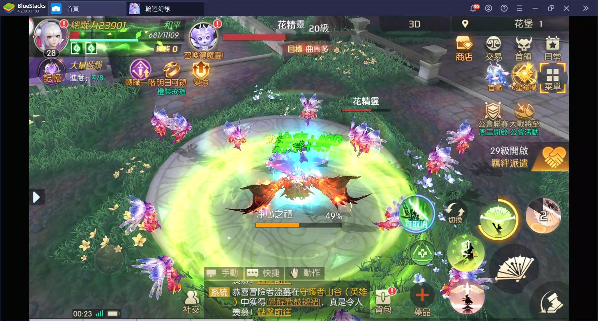 《輪迴幻想》:【神槍手】與【巫女】之進階職業技能