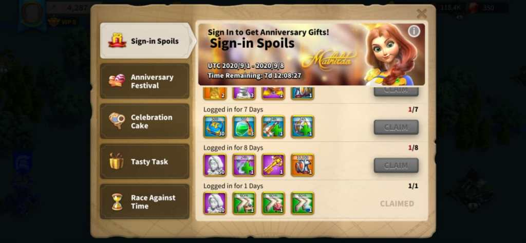 Rise of Kingdoms: Anniversary Update 1.0.50 Events and Fixes