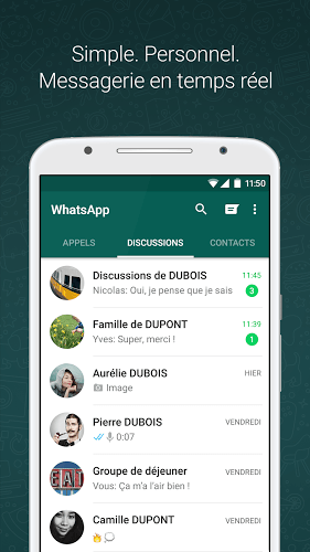 Joue WhatsApp on pc 2