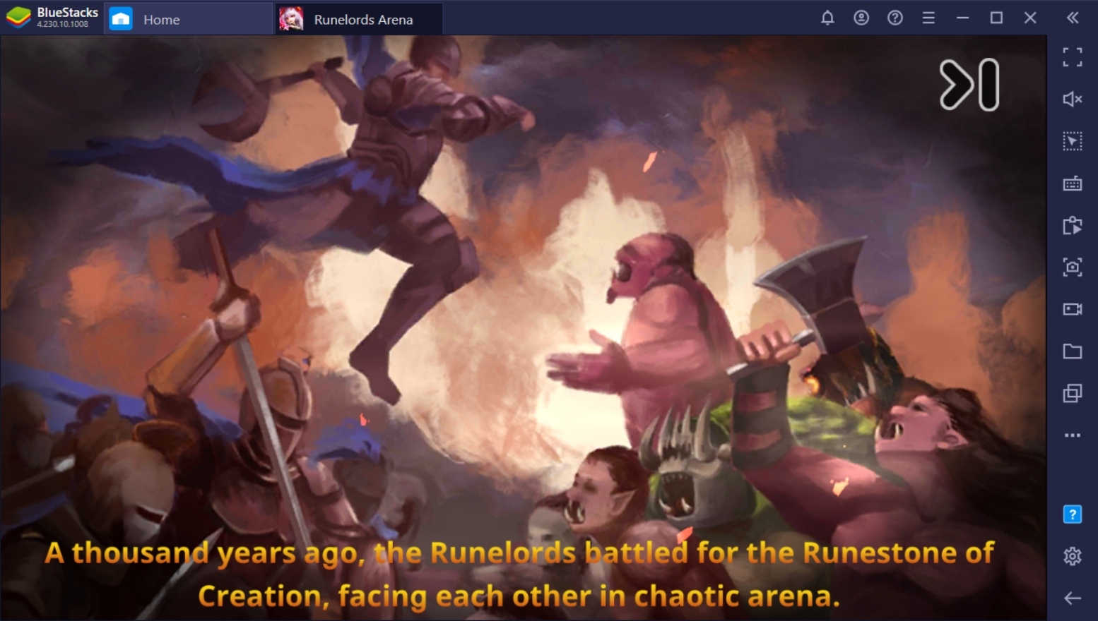How to Play Runelords Arena on PC with BlueStacks
