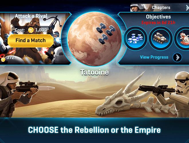 Play Star Wars Commander on pc 14