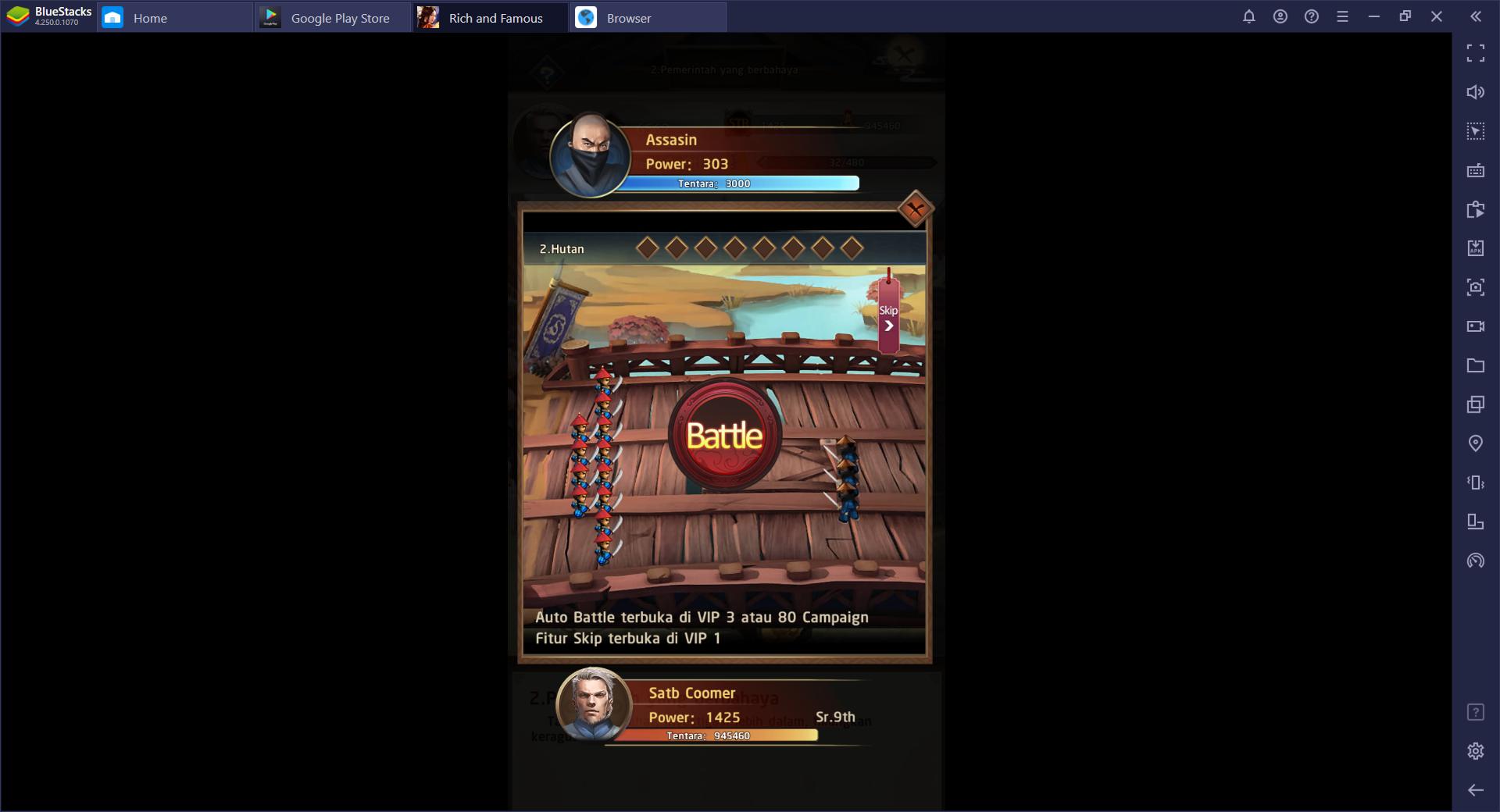 Kaisar Langit: Rich and Famous – Cara Bermain Game Portrait Ini di BlueStacks
