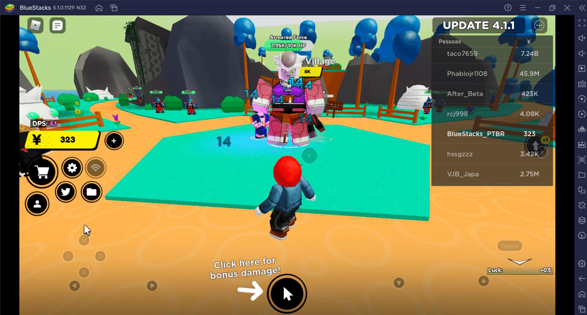 Automatize o farm em Roblox Anime Fighters Simulator e colete todos os personagens míticos sem gastar nenhum Robux