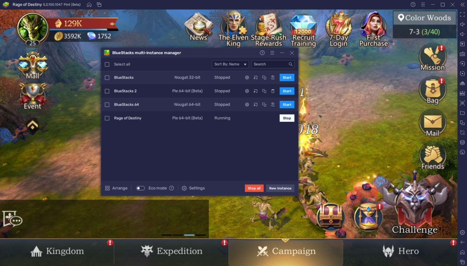 How to Play Rage of Destiny on PC with BlueStacks