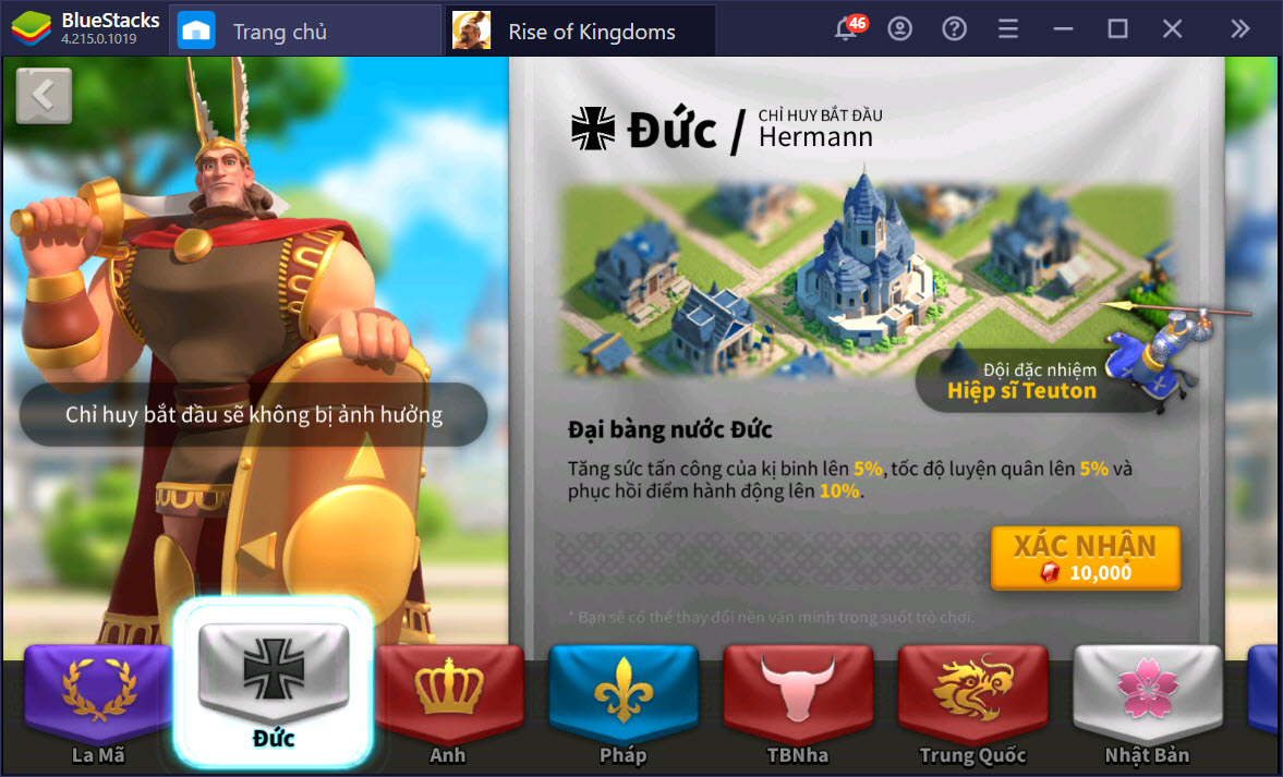 Rise of Kingdoms: Cách chơi cơ bản cho những ai thích Cung Thủ