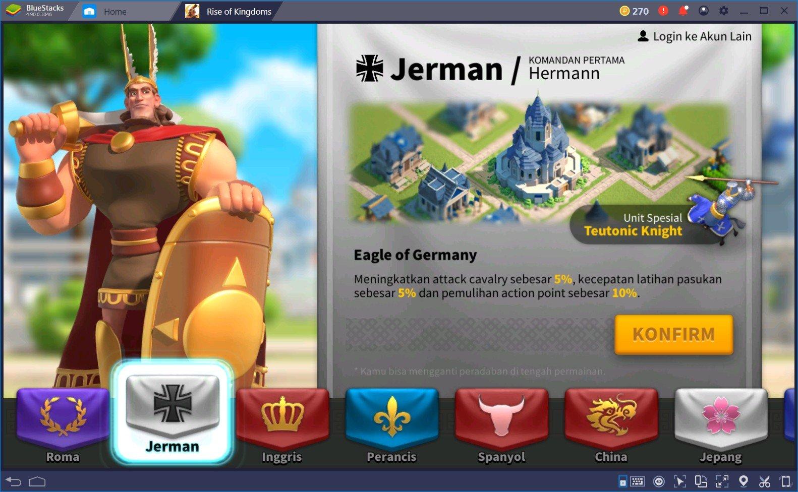 Tips dan Trik Terbaik untuk game Rise of Kingdoms