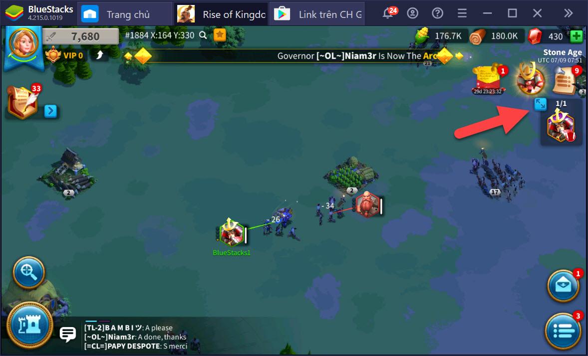 Rise of Kingdoms: Cách nâng cấp nhà chính đạt cấp 17 nhanh nhất