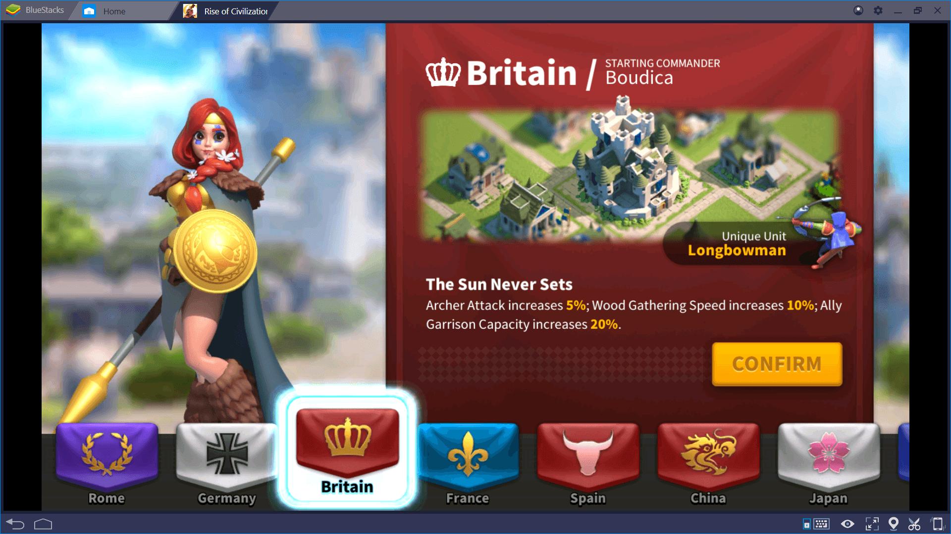 Panduan Utama Memilih Peradaban Terbaik di Rise of Kingdoms