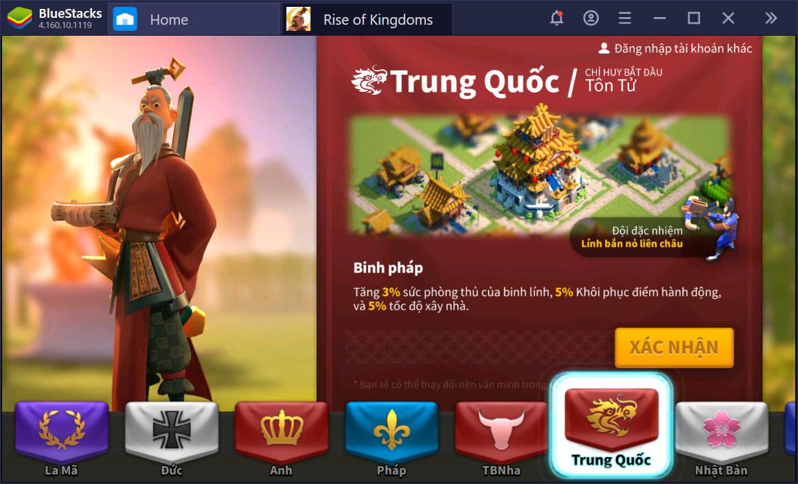 Đế Quốc nào trong Rise of Kingdoms bạn sẽ gia nhập?