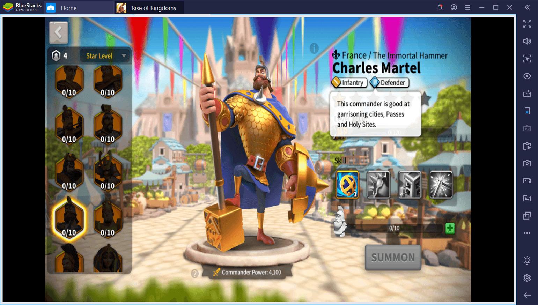 Panduan untuk Commander di Rise of Kingdoms di PC: Strategi Bertempur dan Berpasangan