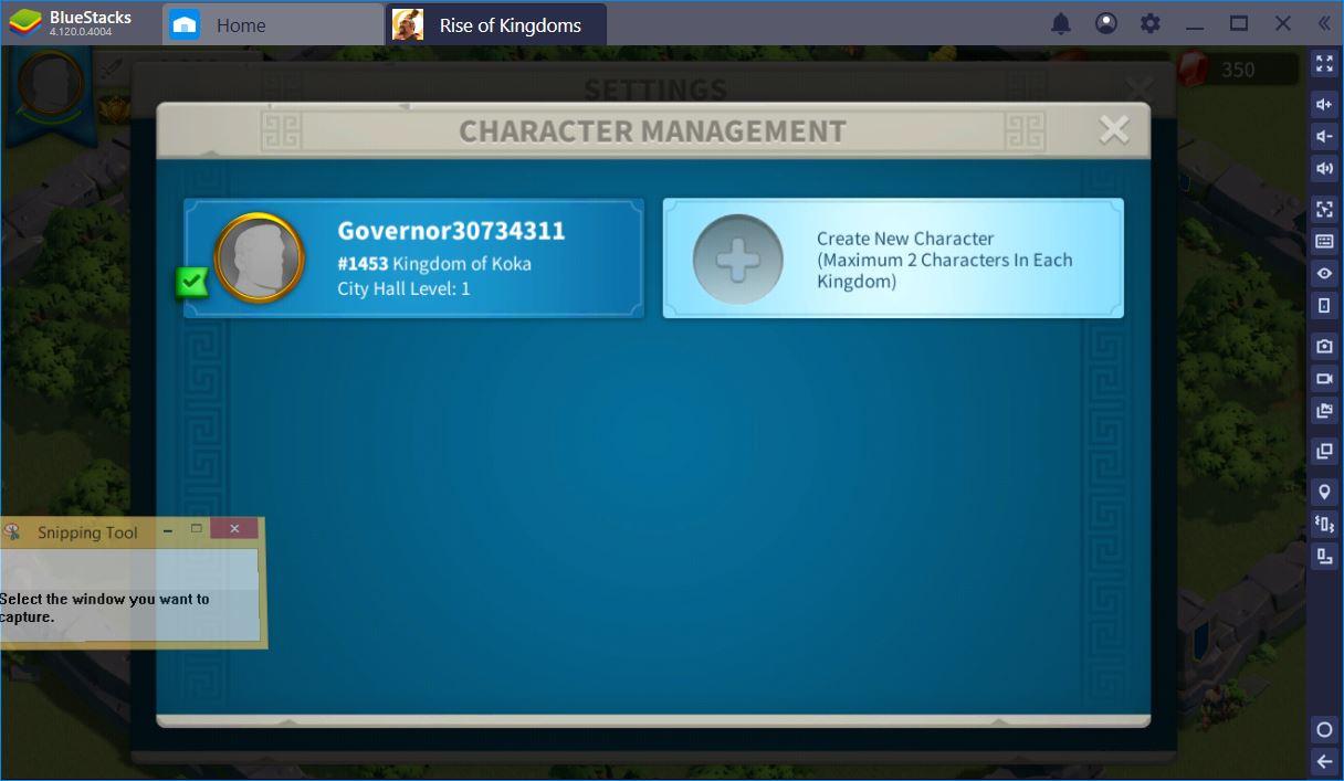 Mẹo farm cực chuẩn khi chơi Rise of Kingdoms trên PC