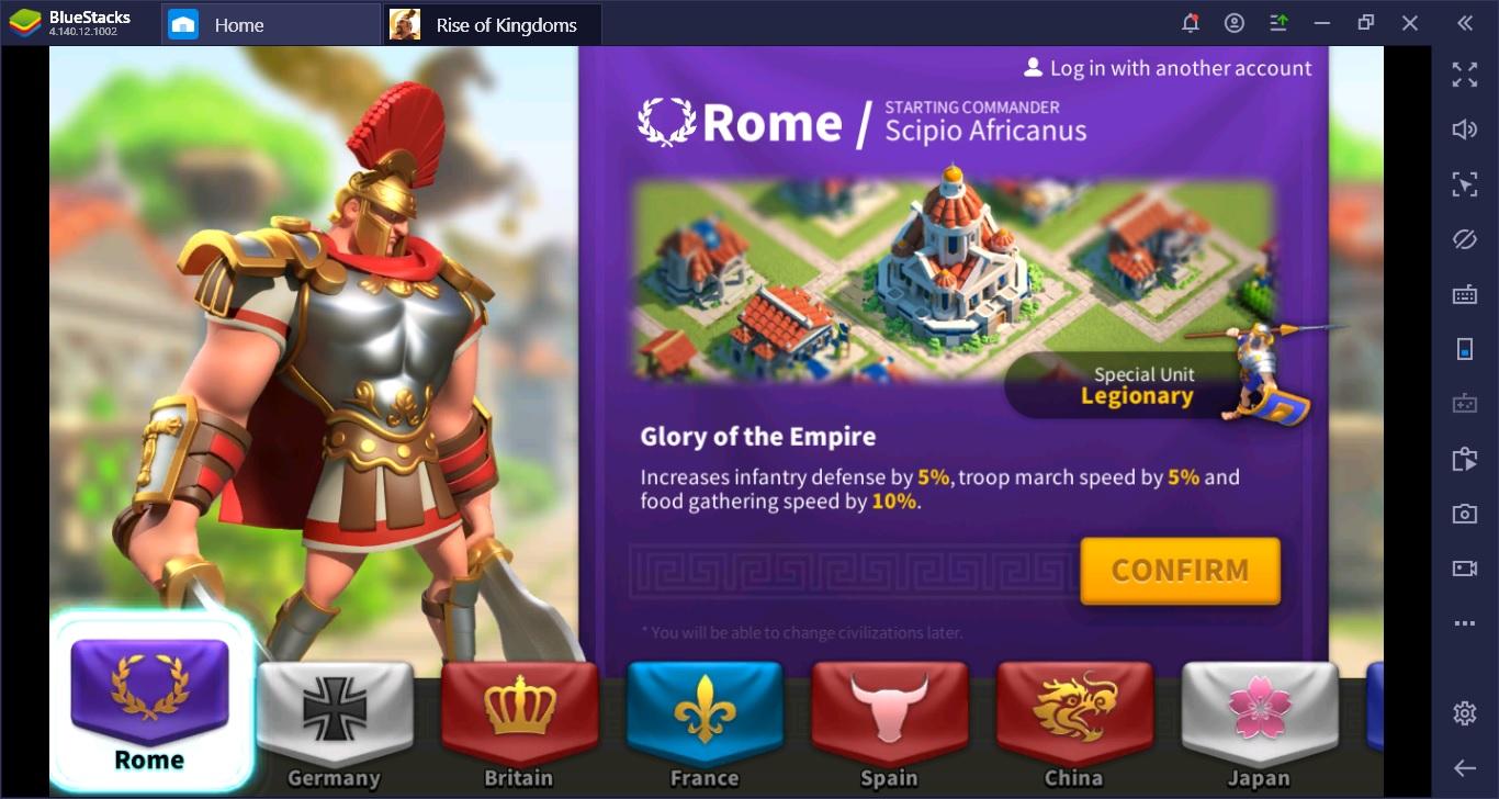 สายฟรีเล่น Rise of Kingdoms อย่างไรให้เทพทันใจ
