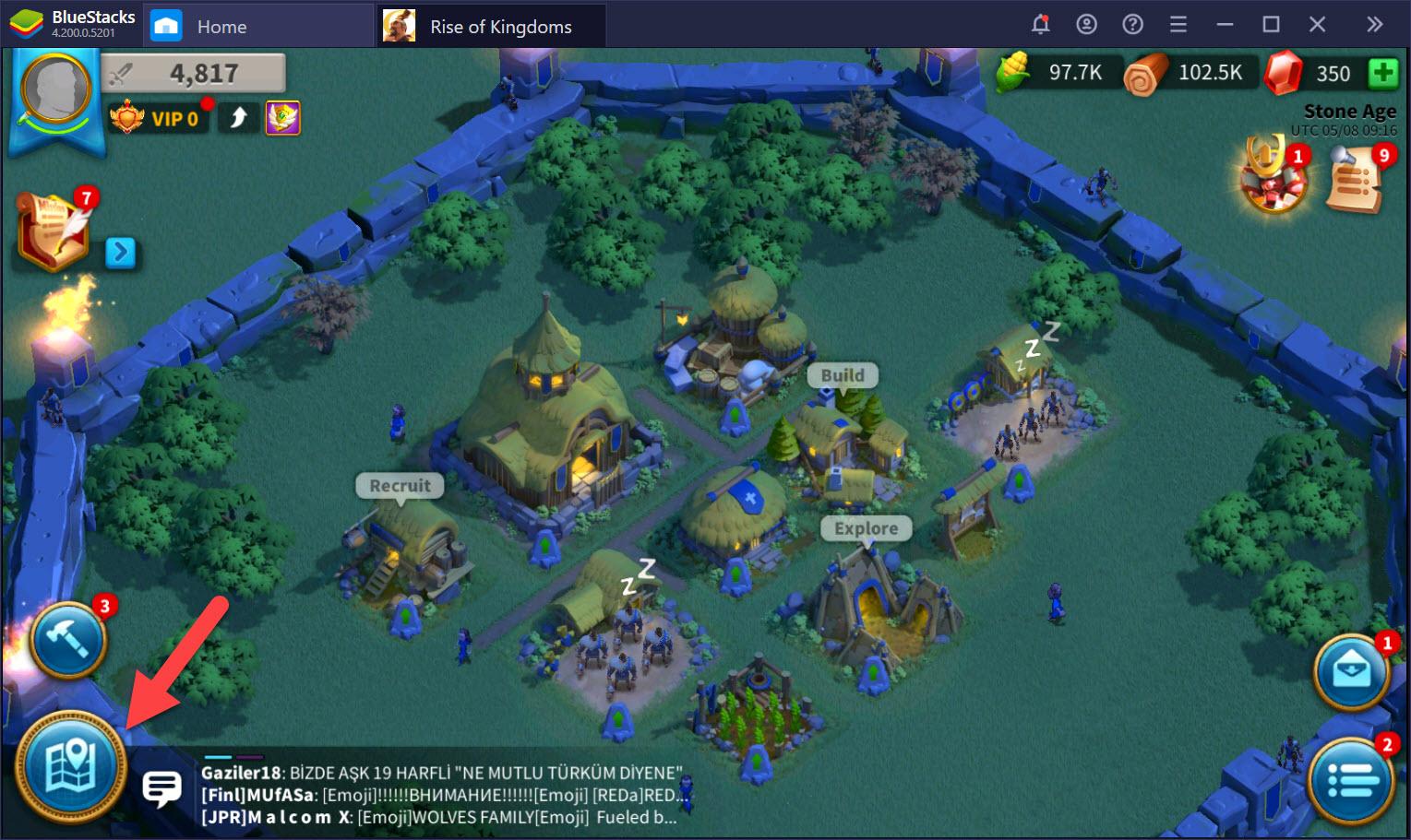 Rise of Kingdoms có khó với người chơi mới ?