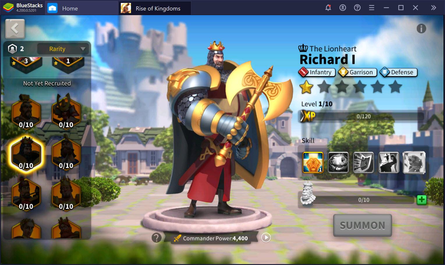 Tổng quan các loại tướng trong Rise of Kingdoms mà người chơi cần biết