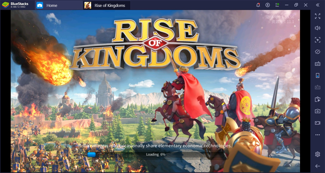 เพราะอะไรถึงต้องเล่น Rise of Kingdoms ผ่าน BlueStacks