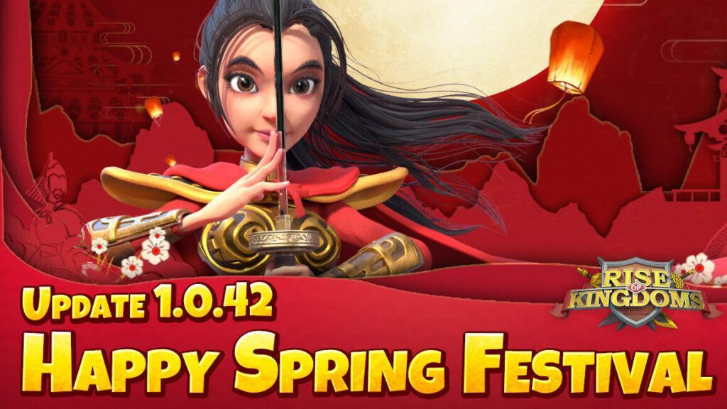"Rise of Kingdoms – Update 1.0.42 ""Fröhliches Frühlingsfest"" ist live!"