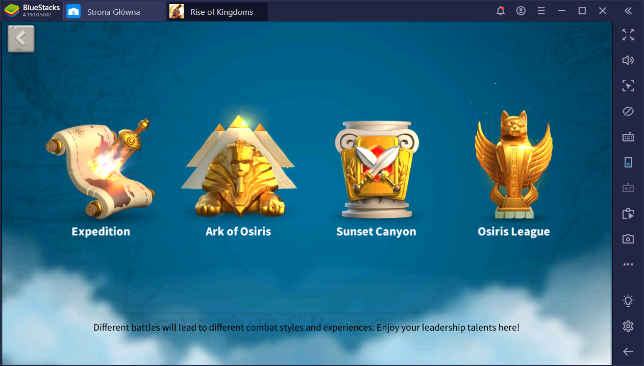 Poradnik początkującego do Rise of Kingdoms na PC