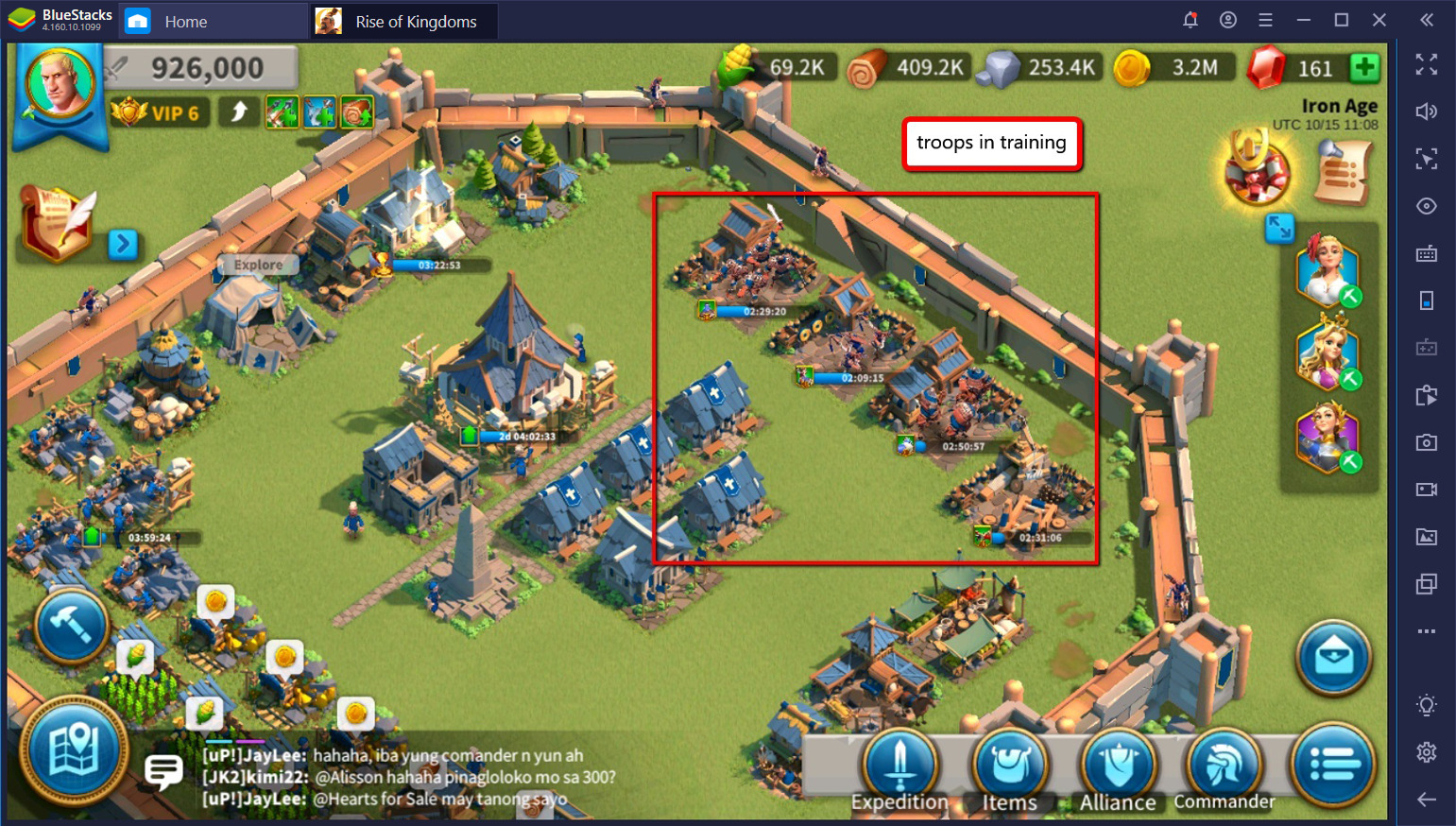 Rise of Kingdoms on PC- City Building Guide: Create Your Own Urban Paradise