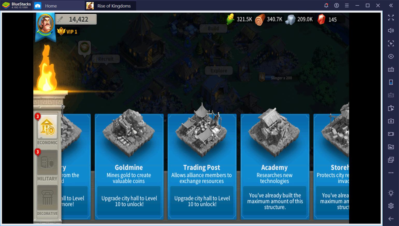 احصل على إجابات لأهم الأسئلة الشائعة حول لعبة Rise of Kingdoms على جهاز الكمبيوتر