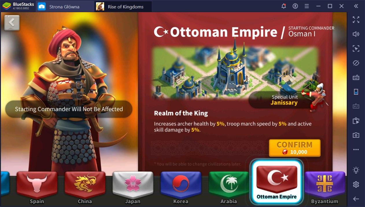 Porady oraz Wskazówki do Rise of Kingdoms
