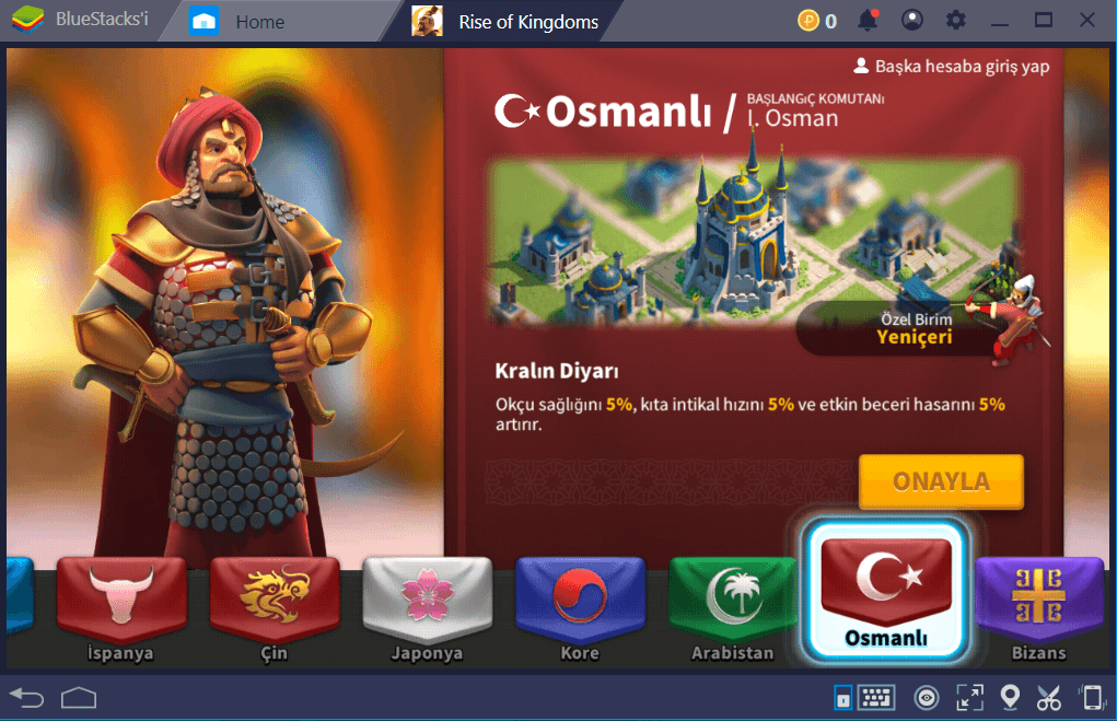 Büyük Rise of Civilizations Güncellemesi Geldi: Artık İsmi Rise of Kingdoms ve Osmanlı İmparatorluğu da Oyuna Eklendi!