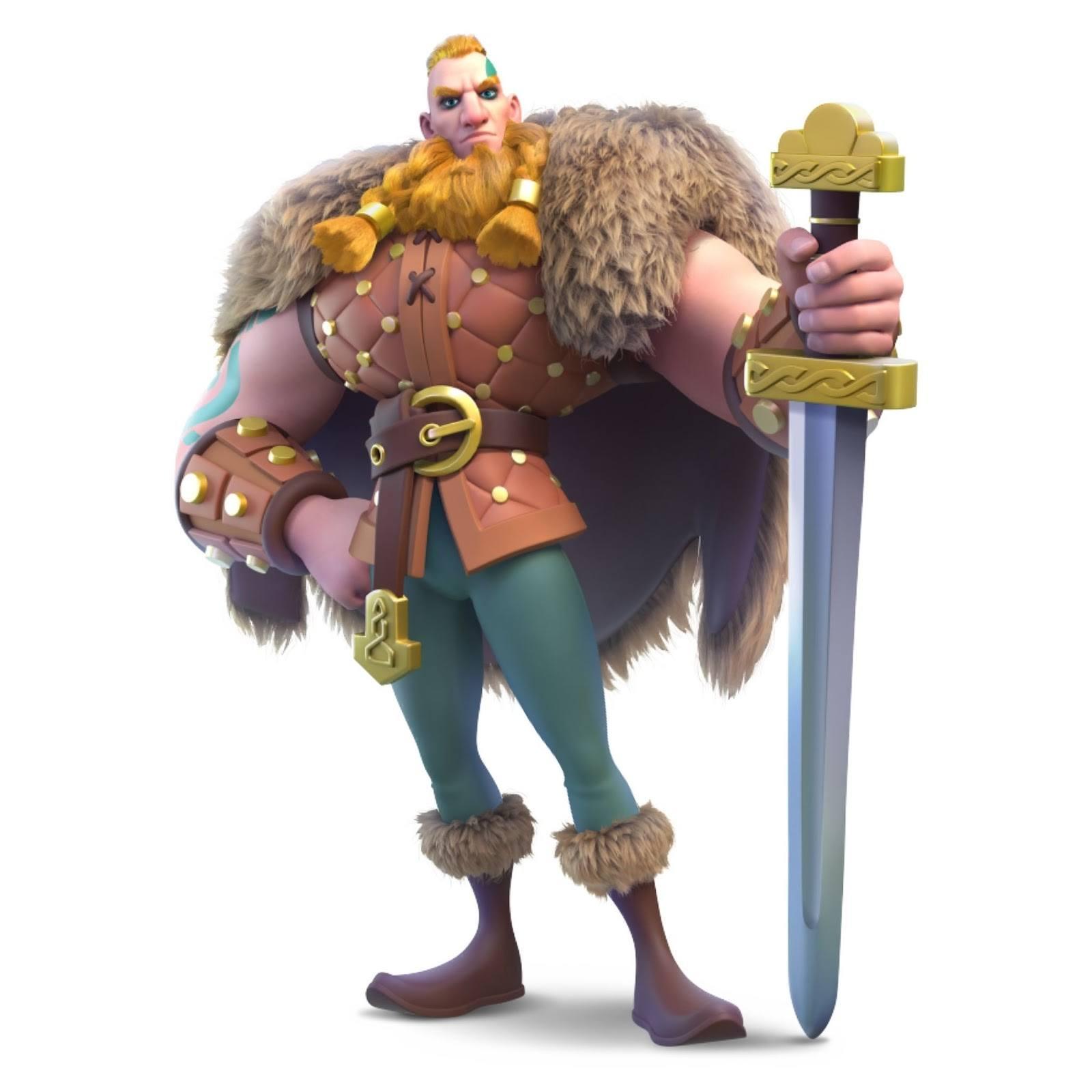 Цивилизация викингов появилась в Rise of Kingdoms с новыми командирами, особым юнитом и бонусами!