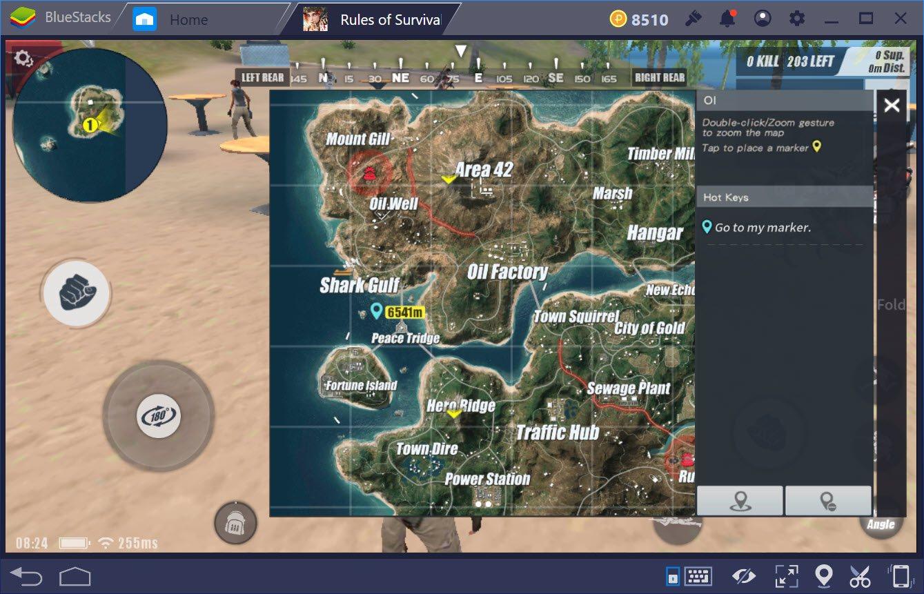 Cách tìm chiếc tàu lượn trong map Fearless Fiord của Rules of Survival