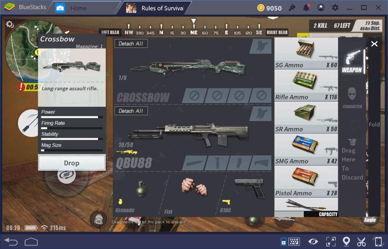 Tìm hiểu Crossbow, vũ khí mới nhất trong Rules of Survival