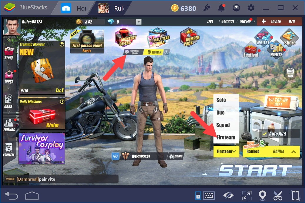 Cách sở hữu Robot Droid hỗ trợ trong Rules Of Survival