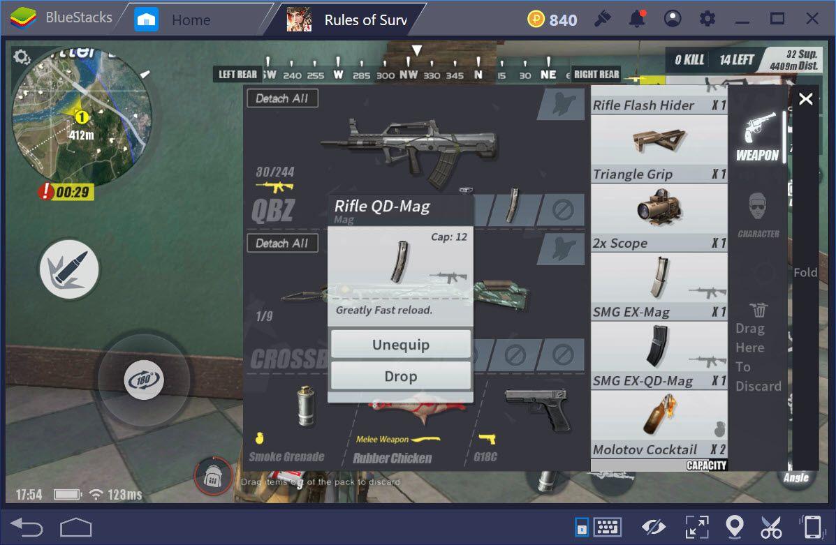 Tìm hiểu QBZ, súng trường lai tạp trong Rules of Survival