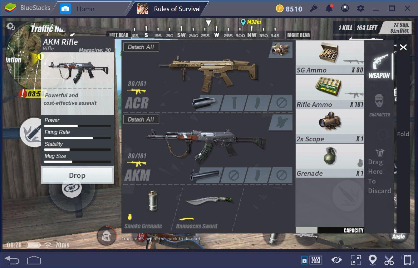 Ưu nhược điểm các loại súng trường trong Rules of Survival