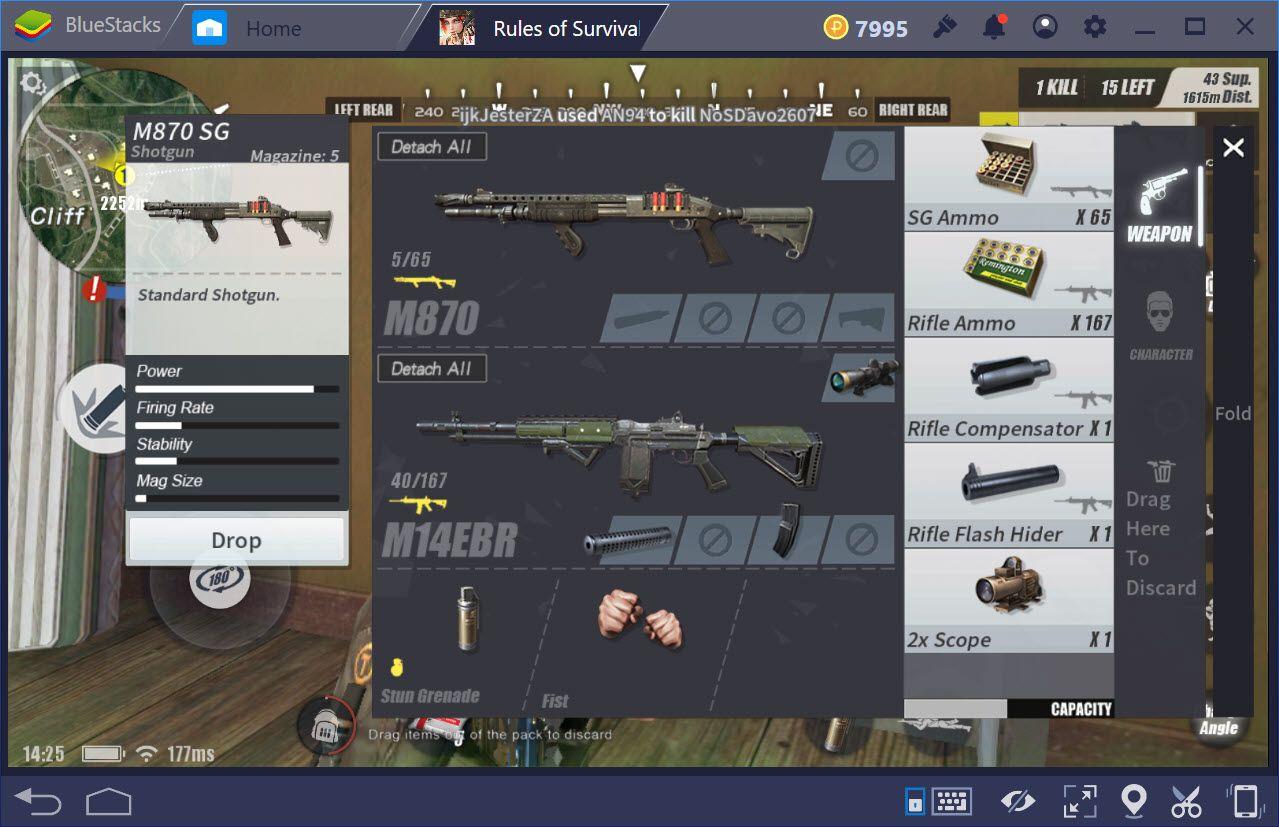 Ưu và nhược điểm Shotgun là gì, sử dụng Shotgun thế nào trong Rules of Survival