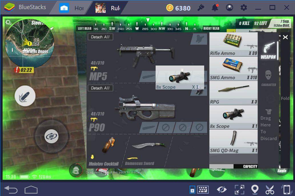 Có nên sử dụng các loại súng SMG trong Rules of Survival không?