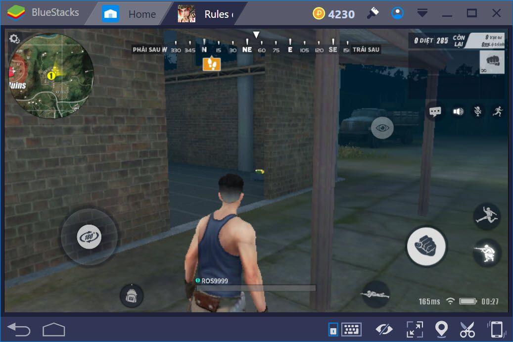 Khám phá các chế độ chơi, chế độ Team trong Rules of Survival