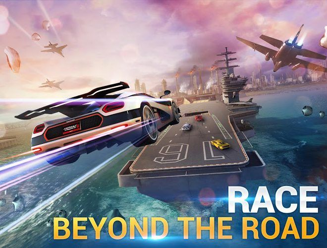 Spustit Asphalt 8: Airborne on PC 5