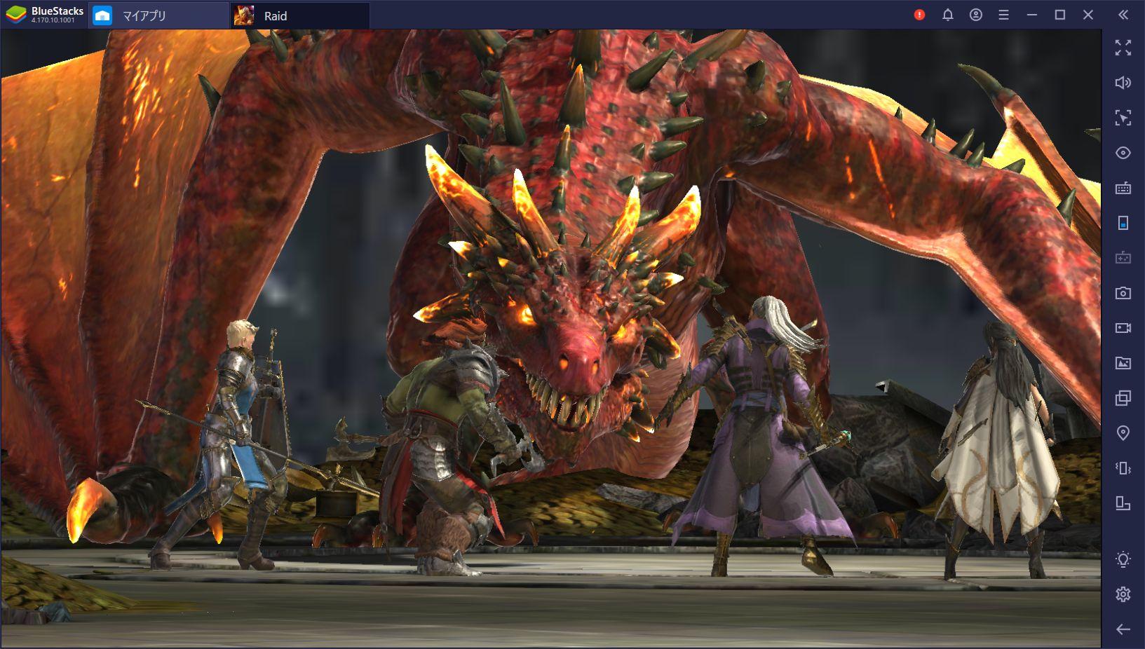 BlueStacksを使ってPCで『レイド Shadow Legends』を遊ぼう