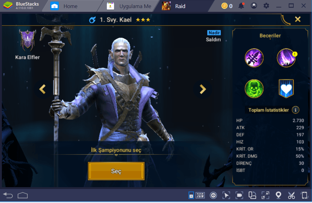 RAID: Shadow Legends – BlueStacks Kurulum Rehberi