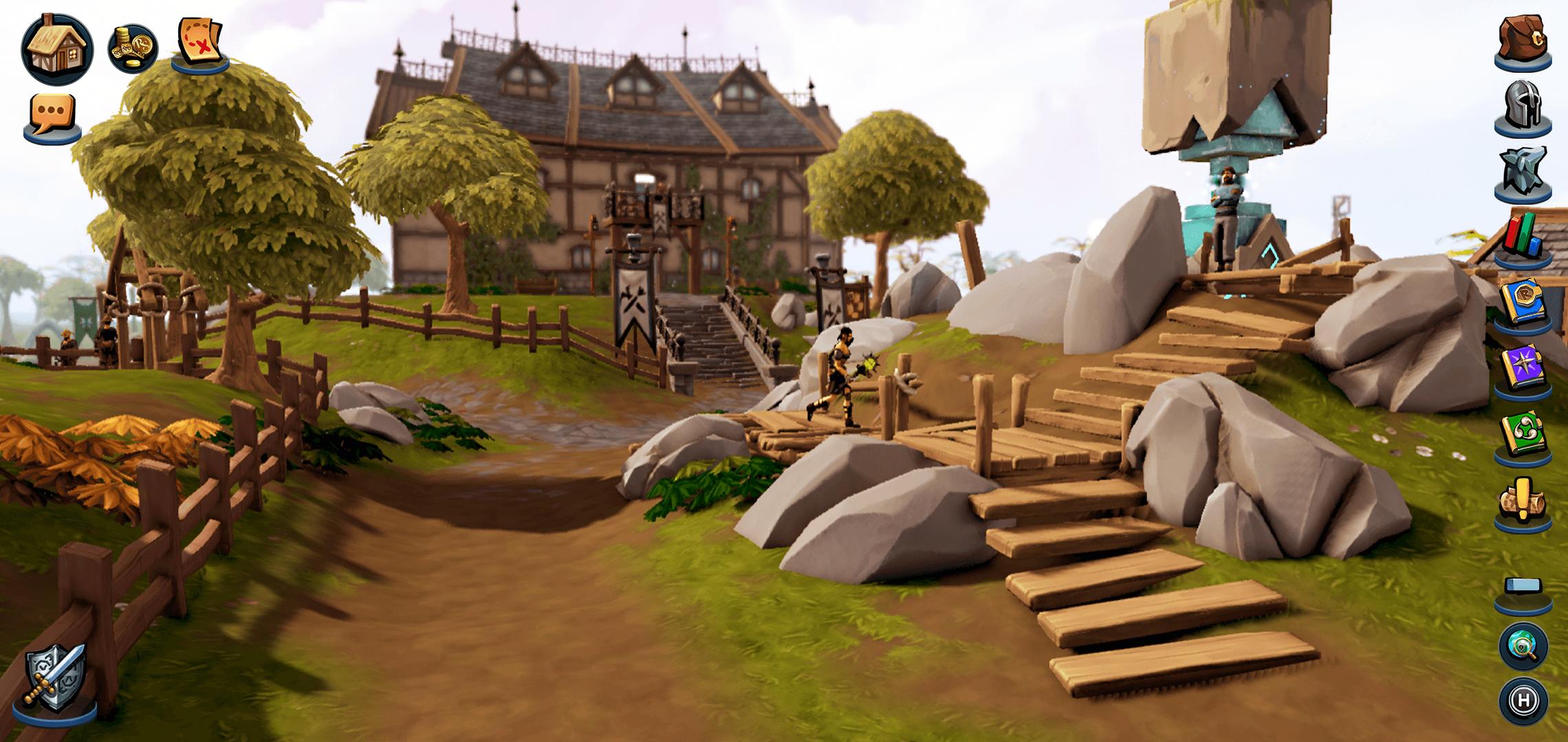 """Game MMORPG """"lão làng"""" RuneScape ra mắt phiên bản mobile"""