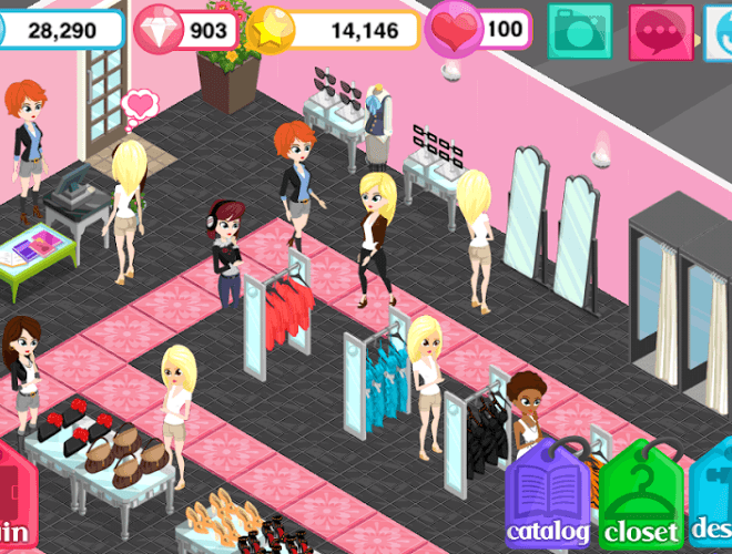 Play Fashion Story Mermaid Cove on PC 7