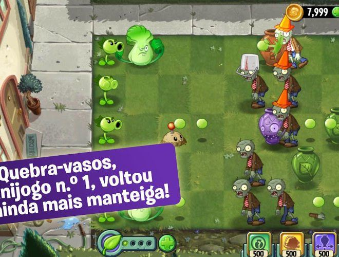 Jogue Plants vs Zombies 2 para PC 12