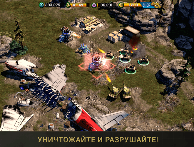 Играй War Commander: Rogue Assault На ПК 5