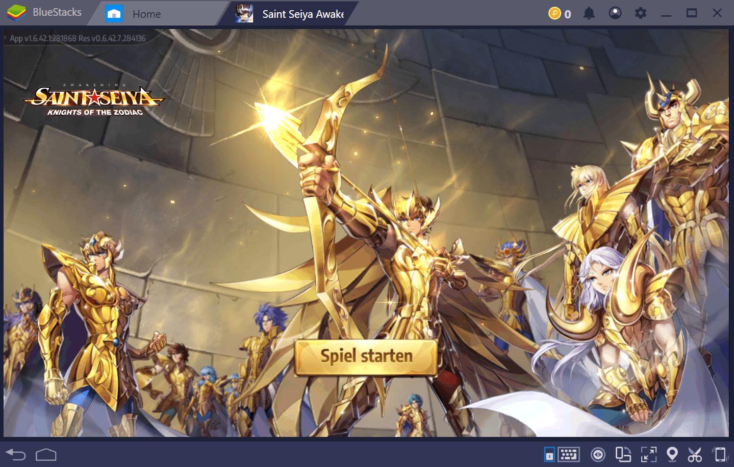 Beherrsche deinen Kosmos in Saint Seiya Awakening: Knights of the Zodiac