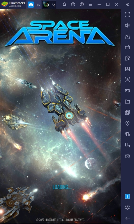 How to Play Space Arena on PC with BlueStacks