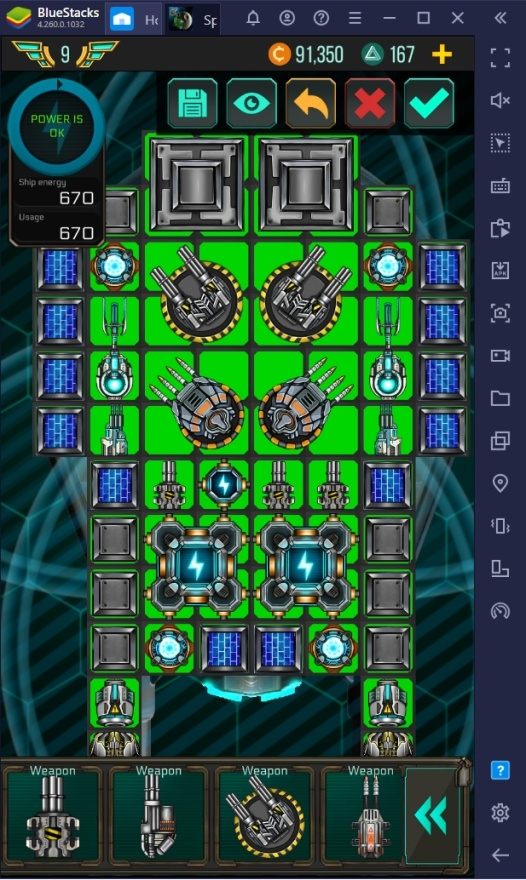 Choosing the Right Starship in Space Arena on PC