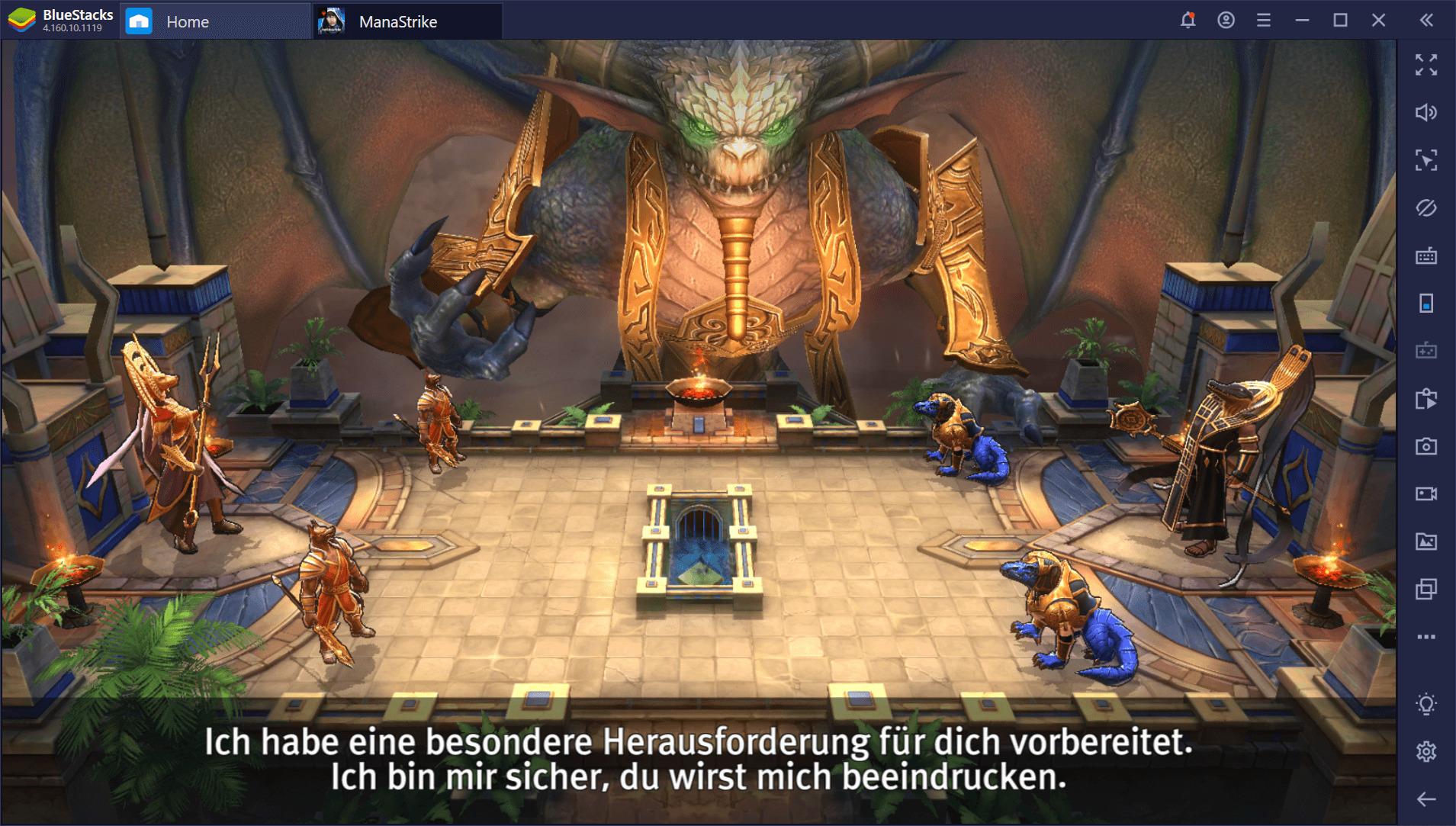 Ein erster Blick auf Magic: ManaStrike auf dem PC