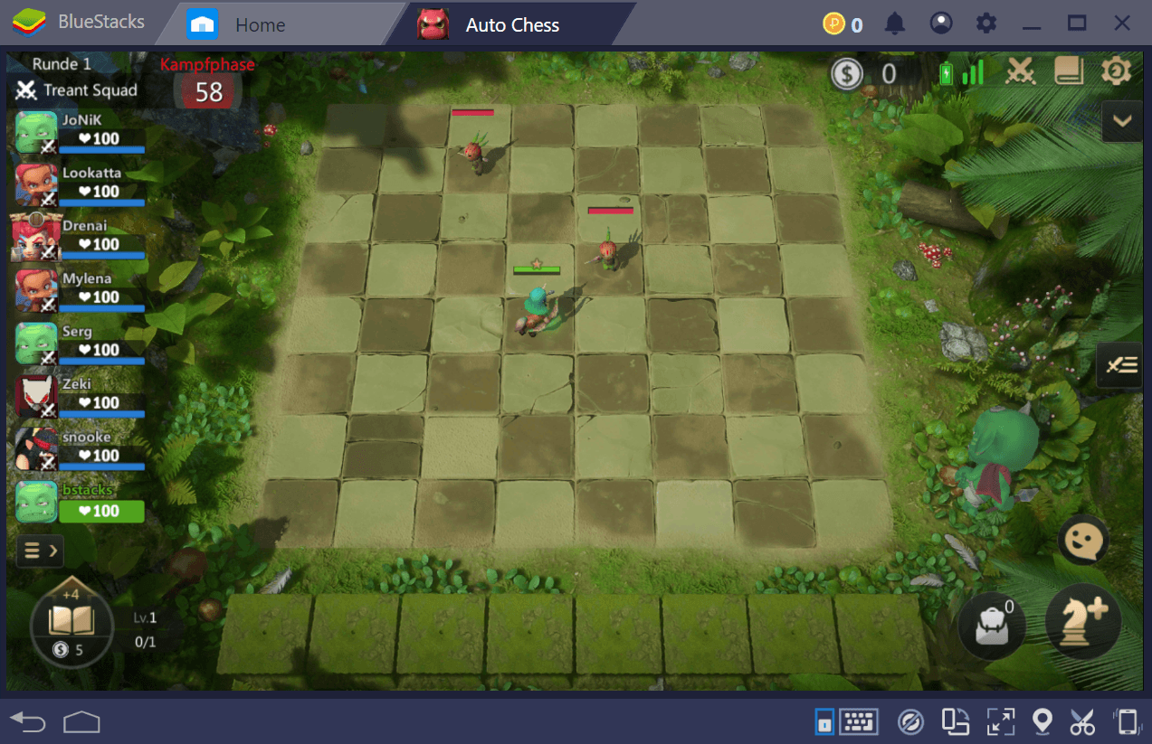 BlueStacks Installations- and Bedienungs-Guide für Auto Chess