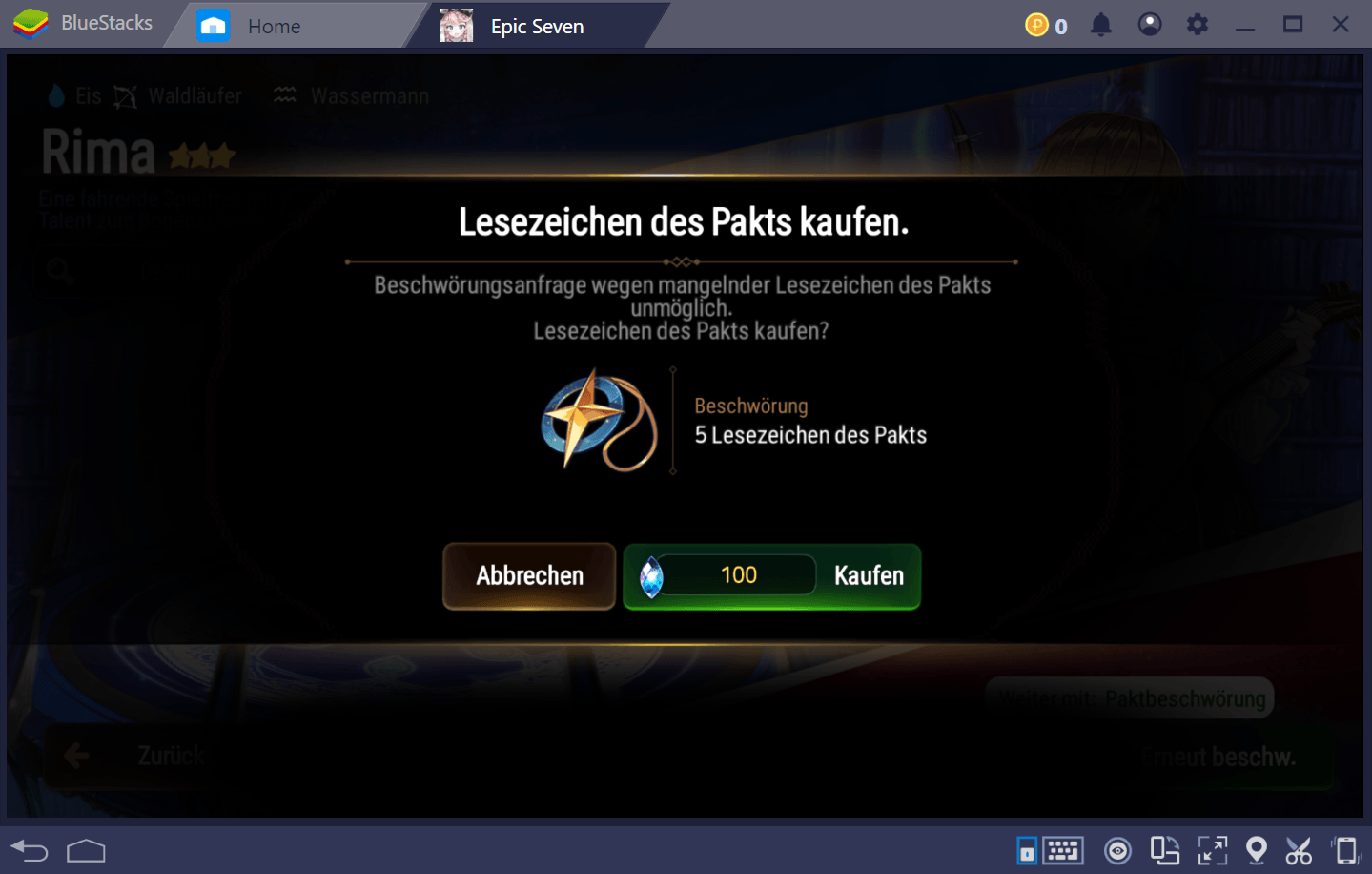 BlueStacks Anfänger-Guide zu Epic Seven